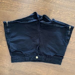 American Apparel black shorts size 28/29
